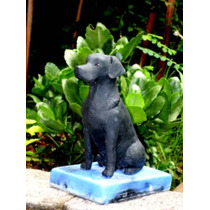 Labrador - Escultura Em Resina