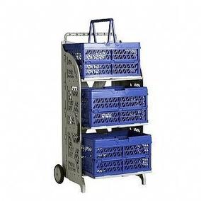 Carrinho De Compras Prático Para Supermercado Dobravél