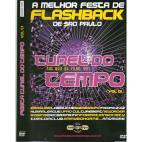 Dvd Flash Back - Tunel Do Tempo The Best Of 70,80,90