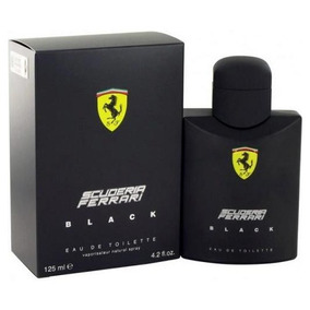 Perfume Ferrari Black 125ml 100% Original Lacrado Importado