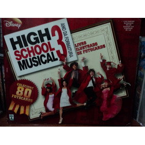 Albun/ilustrado De Fotocards:high School Musical 3