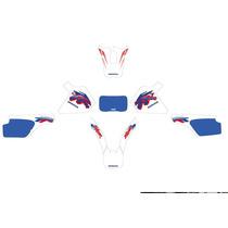 Kit De Calcos Honda Xr250 Completo, Ploteo Grafica