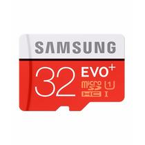 Cartão Micro Sd 32gb Samsung Evo Plus Classe 10 80mb/s Uhs-1