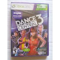Dance Central 3 Xbox 360 Nuevo Sellado Trqs Baile Kinect