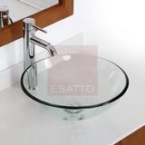 Esatto® Kit Drop Paquete Lavabo Vidrio Llave Cespol Valvula