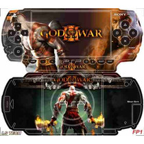 God Of War Skin P/ Sony Psp Fat / Is Tech Skin