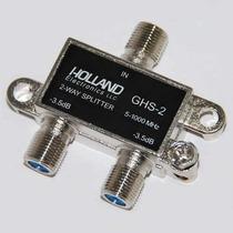 20 Divisores Holland De 2 O 3 Salidas Para Cable Coaxial