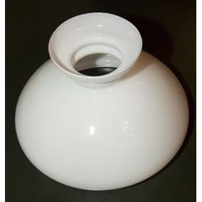 Cúpula De Vidro Leitosa Lampião 27 - Cod. 30916