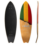 Shape Skate Longboard Surf Reggae Slide R-deck 89 Cm Tail
