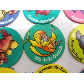 Tazos Zaps Ping Pong Animais Em Extinção - Comp Sua Coleção