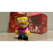 Toy Art The Simpsons 25th Aniversário Kidrobot Hank Scorpio