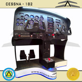 Simulador De Vuelo Atom Cessna 182rg