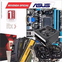 Kit Fx-8300 Ga-78lmt-usb3 16gb Gamer Fonte 600w R7 370 2gb