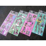Monster High Kit Adesivo Stickers C/ 30 Cartelas Autocolante