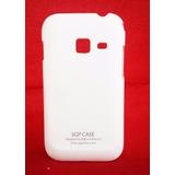 Capa Samsung Galaxy Ace Duos S6802 Rígida Branca Promoção