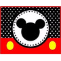 Kit Imprimible Candy Bar Mickey Mouse Cumples Y Mas