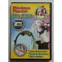 Dvd Mecanica Popular Para Ninos