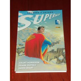 Superman Grandes Astros - Edição De Luxo Em Capa Dura