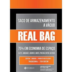 Saco A Vacuo - Tradicional - 70x100 Cm - Promoção - Real Bag