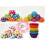 240 Capacillos Decorados #69 Mini Cupcake Cakepops Trufas