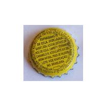 Tampinhas Antigas - Refrigerante Coca-cola (fundo Amarelo)