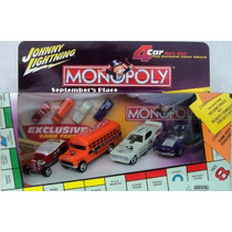 Johnny Lightning Set Monopoly 4 Carros: School Bus (lacrado)