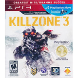 Ps3 Juego Play 3 Killzone 3 Play 3 ** Tiendastargus **