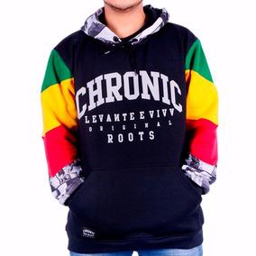 Blusa De Frio Chronic Original Moleton Bob Marley Jamaica