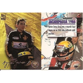 3079 - Card Ayrton Senna - Multi Editora - Nº 79 - Complete