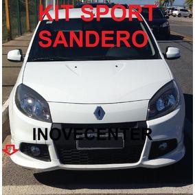 Saias Laterais Kit Sport Renault Sandero 13 2014 2ª Geração