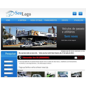 Script Php Revenda De Veiculos - Site Para Concessionária