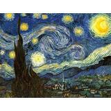 Noites Estreladas Grande Reprodução Vincent Van Gogh Na Tela