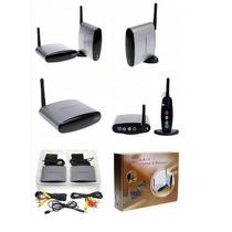 Kit Transmissor E Receptor Wireless De Audio/vídeo 2.4ghz +