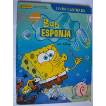 Álbum Bob Esponja Nickelodeon Panini 2004 Completo