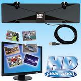 Antena Tdt Hd Clear Vision Tv Digital Televisión Televisor *