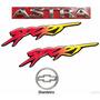 Emblema Astra + Laterais Sport + Gravata - 1999 À 2002