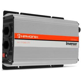 Inversor 1200w Transformador 12v P/ 110 127 Veicular Hayonik