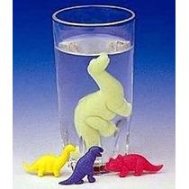 24 Mini Dinossauros De Borracha Que Cresce Na Água
