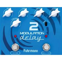 Pedal Guitarra Modulation Delay 2 Fuhrmann Frete Grátis