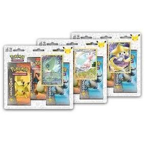 Blister Triplo Com 3 Boosters Gerações Todos Modelos + Card