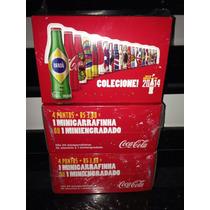 Caixa Lacrada De Mini Garrafinhas Coca Cola - Copa Fifa 2014