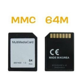 Mmc 64 Megas Multi Media Card