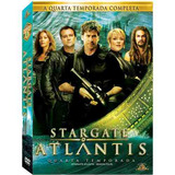 Stargate Atlantis - Quarta Temporada - Box Lacrado