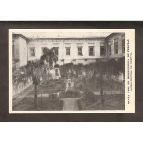 Cartão Postal-pelotas-rs-santa Casa (jardim Central)-novo