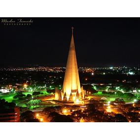 Cartão Postal - Catedral De Maringá