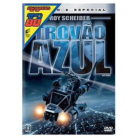 Dvd Trovao Azul - Anos 80 Novo Lacrado Original Frete 10,00