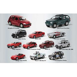 Coleção Jornal Extra Rj - 12 Miniaturas Carros Fora De Serie