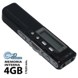 Gravador De Voz Digital Grava Ligaçoes Telefonicas Com 4gb0