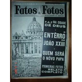 Revista Fatos E Fotos Nº 124 Junho 1963 Papa João Xxiii Miss