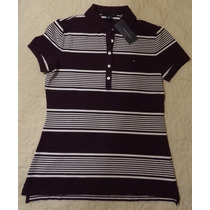 Camisa Gola Polo Feminina Tommy Hilfiger